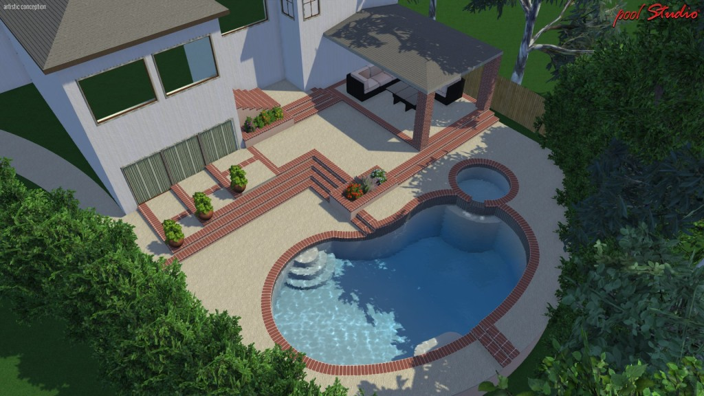 ... Pool Remodel (Studio City, CA) ...