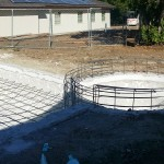 Upland Pool Constrution
