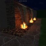Fire/Water Feature Concept