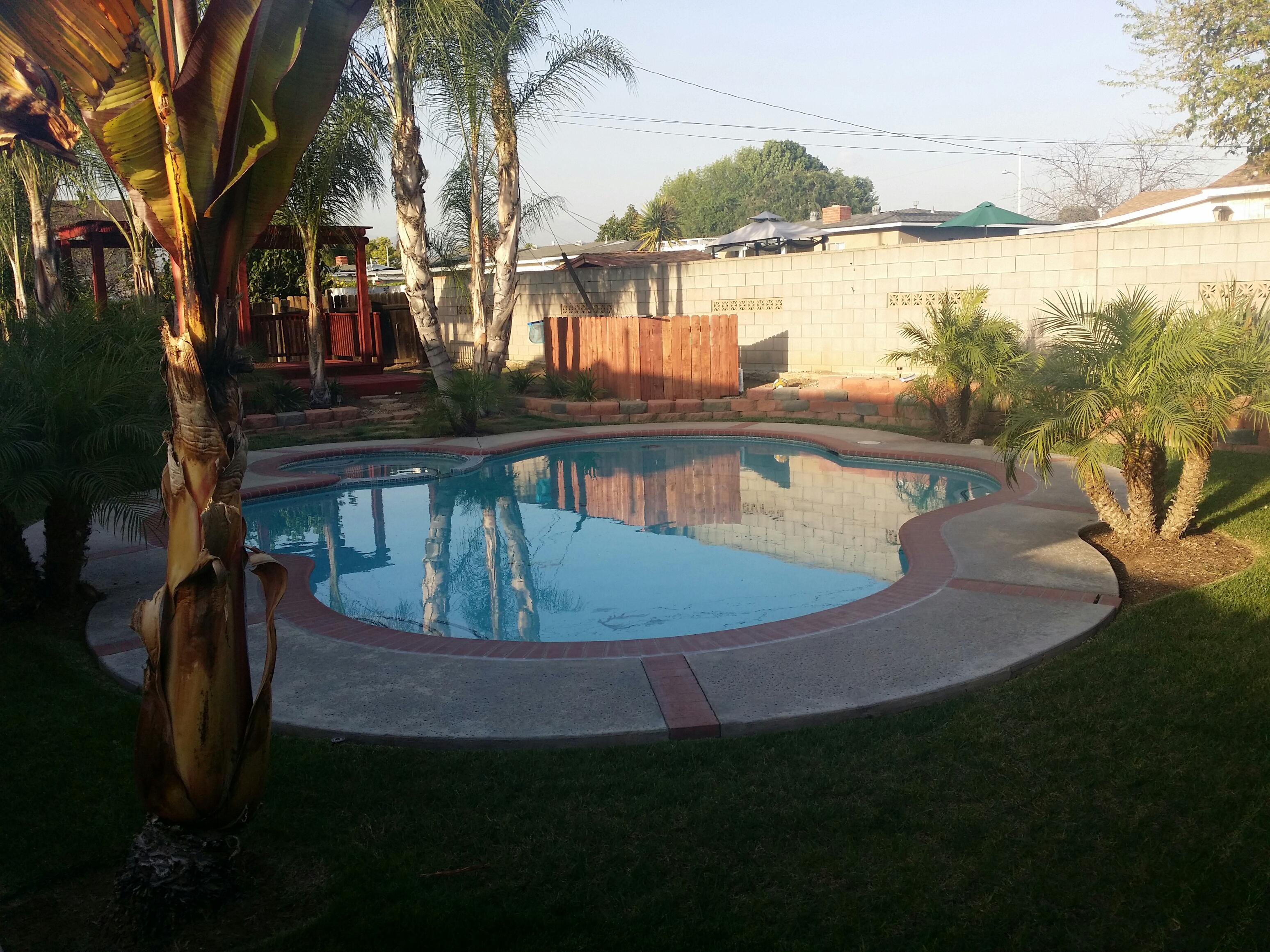 Custom pool remodeling west covina california hansen for Pool building companies