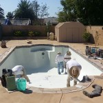 In ground Pool Construction