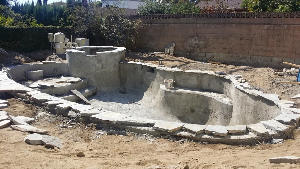 Glendale pool and spa construction hansen pool construction for Spa construction